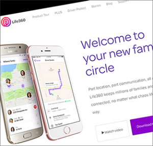 Life360 is an app that allows you to view your family