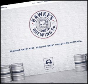 Hawke's Brewing Co. is the story of two Aussie blokes, who had a dream to run an Australian beer company