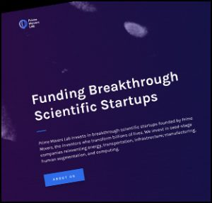 Prime Movers Lab invests in breakthrough scientific startups